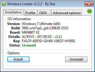 Windows 7 activator windows loader v2 1 7 by daz youtube.